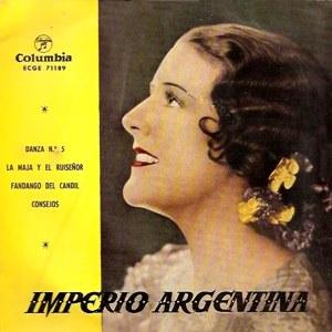 Argentina, Imperio - ColumbiaECGE 71189