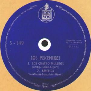 Pekenikes, Los - HispavoxS-149