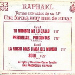 Raphael - HispavoxCP-315