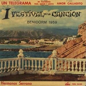 Hermanas Serrano - La Voz De Su Amo (EMI)7EPL 13.331