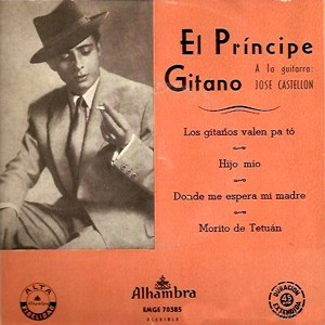 Príncipe Gitano, El - Alhambra (Columbia)EMGE 70385