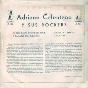 Adriano Celentano - ZafiroZ-E 125