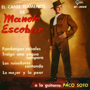 Escobar, Manolo - SAEF SF-2028
