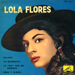 Flores, Lola - La Voz De Su Amo (EMI)7EPL 13.577