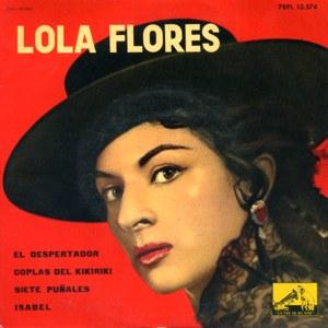 Flores, Lola - La Voz De Su Amo (EMI)7EPL 13.576
