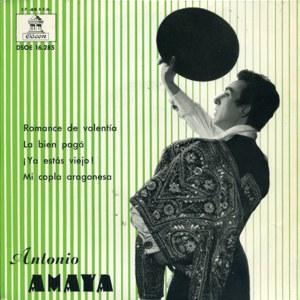 Amaya, Antonio - Odeon (EMI)DSOE 16.285