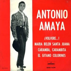 Amaya, Antonio - Odeon (EMI)DSOE 16.591