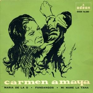 Amaya, Carmen - Odeon (EMI)DSOE 16.580