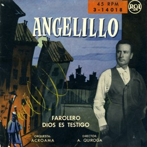 Angelillo - RCA 3-14018