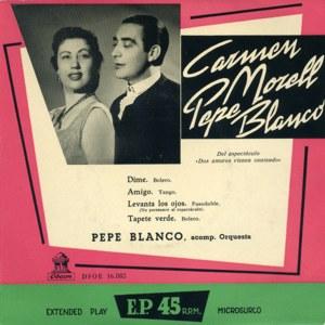 Blanco, Pepe - Odeon (EMI)DSOE 16.085