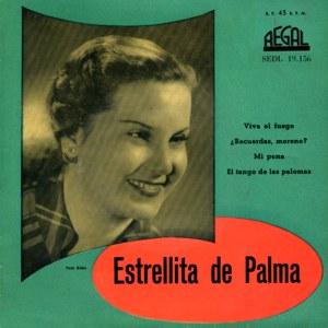 Palma, Estrellita De - Regal (EMI)SEDL 19.156