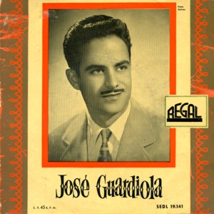 Guardiola, José - Regal (EMI)SEDL 19.141