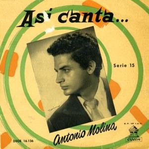 Molina, Antonio - Odeon (EMI)DSOE 16.136