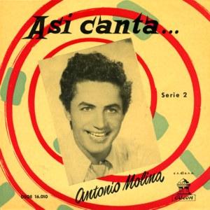 Molina, Antonio - Odeon (EMI)DSOE 16.010