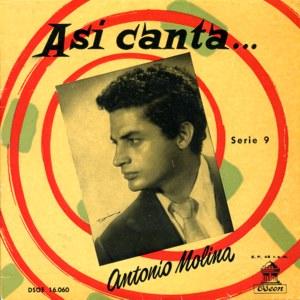 Molina, Antonio - Odeon (EMI)DSOE 16.060