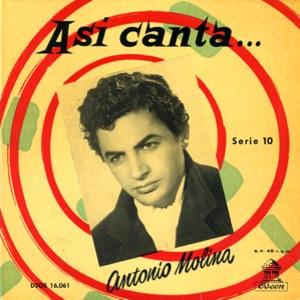 Molina, Antonio - Odeon (EMI)DSOE 16.061