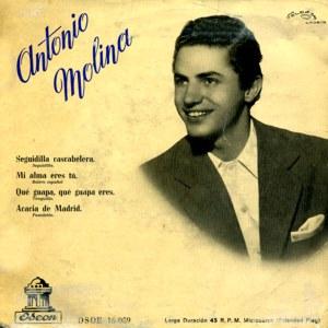 Molina, Antonio - Odeon (EMI)DSOE 16.059