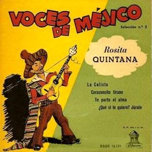 Quintana, Rosita - Odeon (EMI)DSOE 16.131
