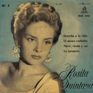 Quintana, Rosita - Odeon (EMI)BSOE 4.025