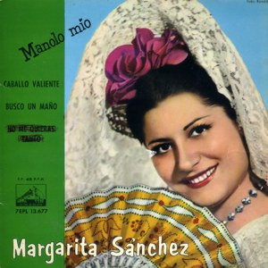Sánchez, Margarita - La Voz De Su Amo (EMI)7EPL 13.677