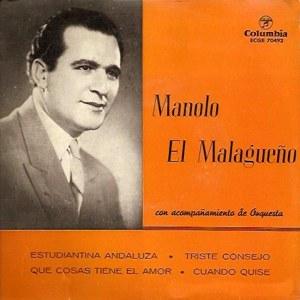 Malagueño, Manolo El - ColumbiaECGE 70492