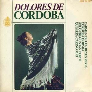 Córdoba, Dolores De - HispavoxHH 16-619