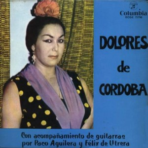 Córdoba, Dolores De - ColumbiaECGE 71798