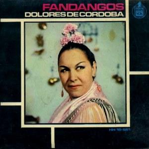 Córdoba, Dolores De - HispavoxHH 16-561