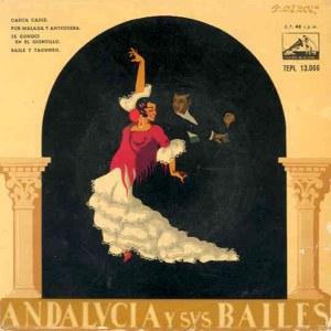 Varios Copla Y Flamenco - La Voz De Su Amo (EMI)7EPL 13.066