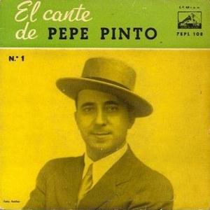 Pinto, Pepe - La Voz De Su Amo (EMI)7EPL 108