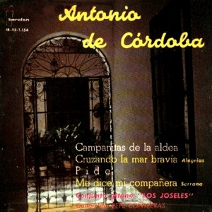 Córdoba, Antonio De - IberofónIB-45-1.154