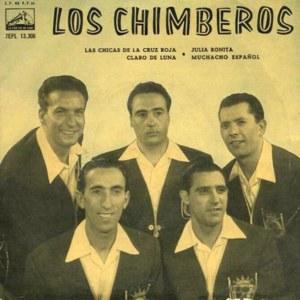 Chimberos, Los - La Voz De Su Amo (EMI)7EPL 13.306
