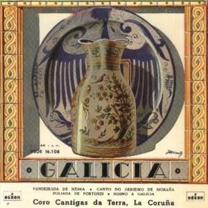 Coro Cantigas Da Terra - Odeon (EMI)DSOE 16.108