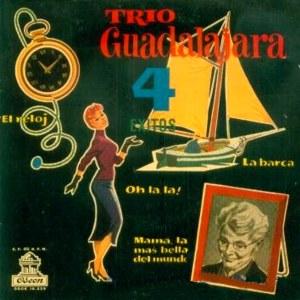 Trío Guadalajara - Odeon (EMI)DSOE 16.239