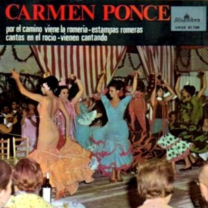Ponce, Carmen - Alhambra (Columbia)SMGE 81108
