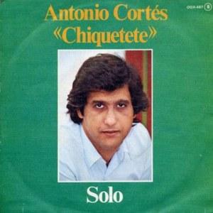 Cortés ´´Chiquetete´´, Antonio - ZafiroOOX-467