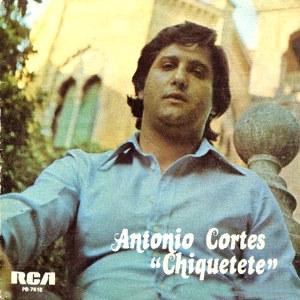Cortés ´´Chiquetete´´, Antonio