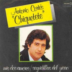 Cortés ´´Chiquetete´´, Antonio - ZafiroOOX-493