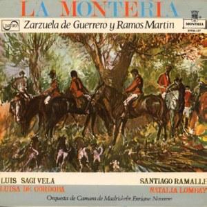Fragmentos De Zarzuelas Y Operetas - Montilla (Zafiro)EPFM-127