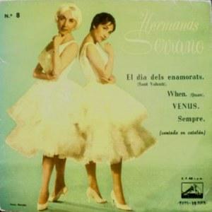 Hermanas Serrano - La Voz De Su Amo (EMI)7EPL 13.373