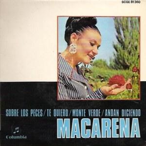 Macarena, Antoñita - ColumbiaSCGE 81360
