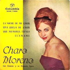 Moreno, Charo - ColumbiaECGE 71689