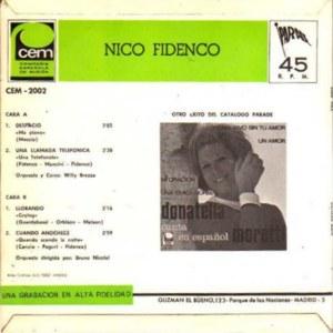 Nico Fidenco - CEMCEM-2.002