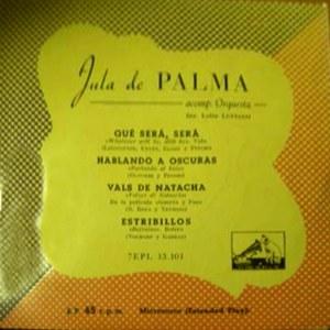 Palma, Jula De - La Voz De Su Amo (EMI)7EPL 13.101