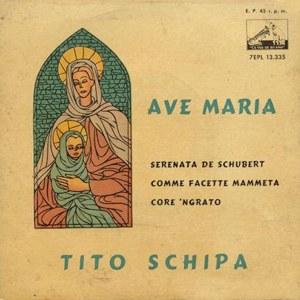 Schipa, Tito - La Voz De Su Amo (EMI)7EPL 13.335