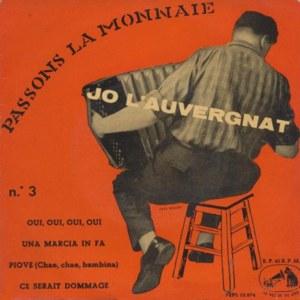L´Auvergnat, Jo - La Voz De Su Amo (EMI)7EPL 13.274