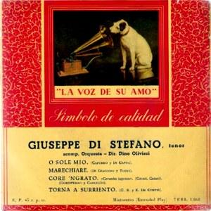 Di Stefano, Giuseppe - La Voz De Su Amo (EMI)7ERL 1.168