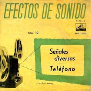 Efectos De Sonido - La Voz De Su Amo (EMI)7EPL 13.291