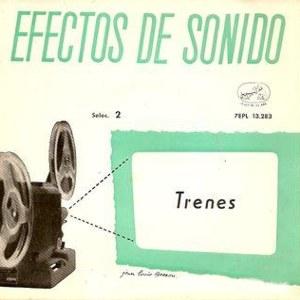 Efectos De Sonido - La Voz De Su Amo (EMI)7EPL 13.283