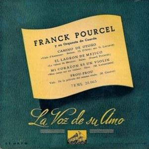 Pourcel, Franck - La Voz De Su Amo (EMI)7EML 28.065